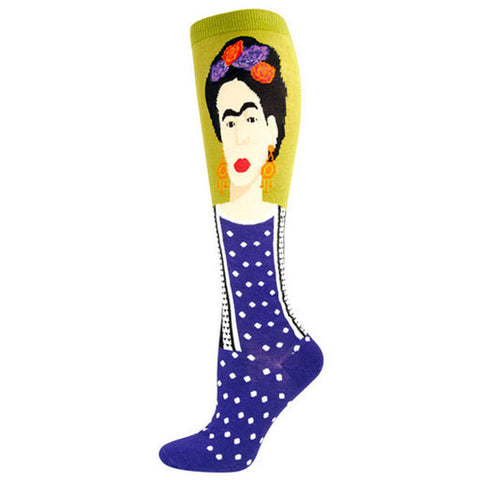 Women's Frida Kahlo Knee Socks