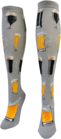 Craft Beer women's knee high socks