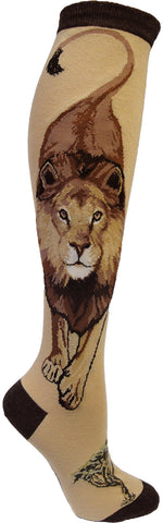 Boss Lion women's knee high socks