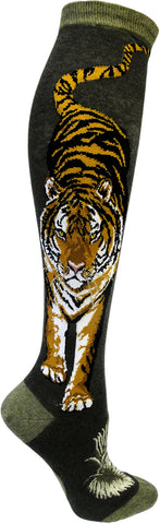 Fierce Tiger women's knee high socks