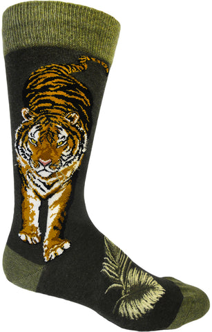 Fierce Tiger men's knee high socks