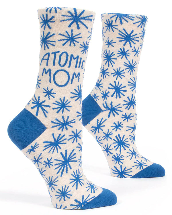 Fun Atomic Mom socks for Mother's Day