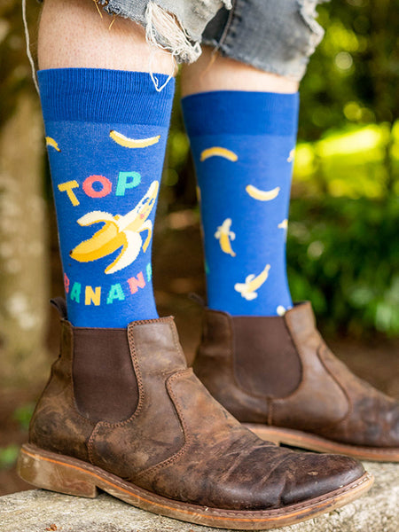 Socks with Chelsea boots