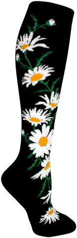 Crazy for Daisies Knee Socks