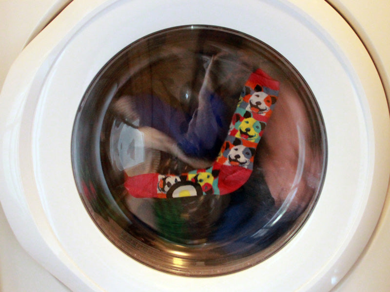 Get wrinkles out of dry clothes by throwing them in the dryer with a damp single sock