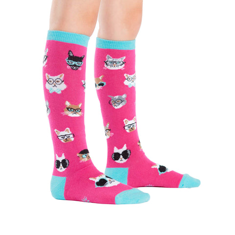 Smarty Cats Kids' Knee Socks