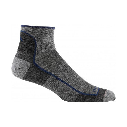 Merino wool quarter-height socks by Darn Tough take your feet to the next level.