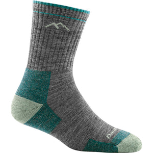 Wool hiking socks for women in Slate