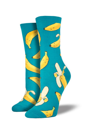 These banana socks for women are so a-peel-ing!