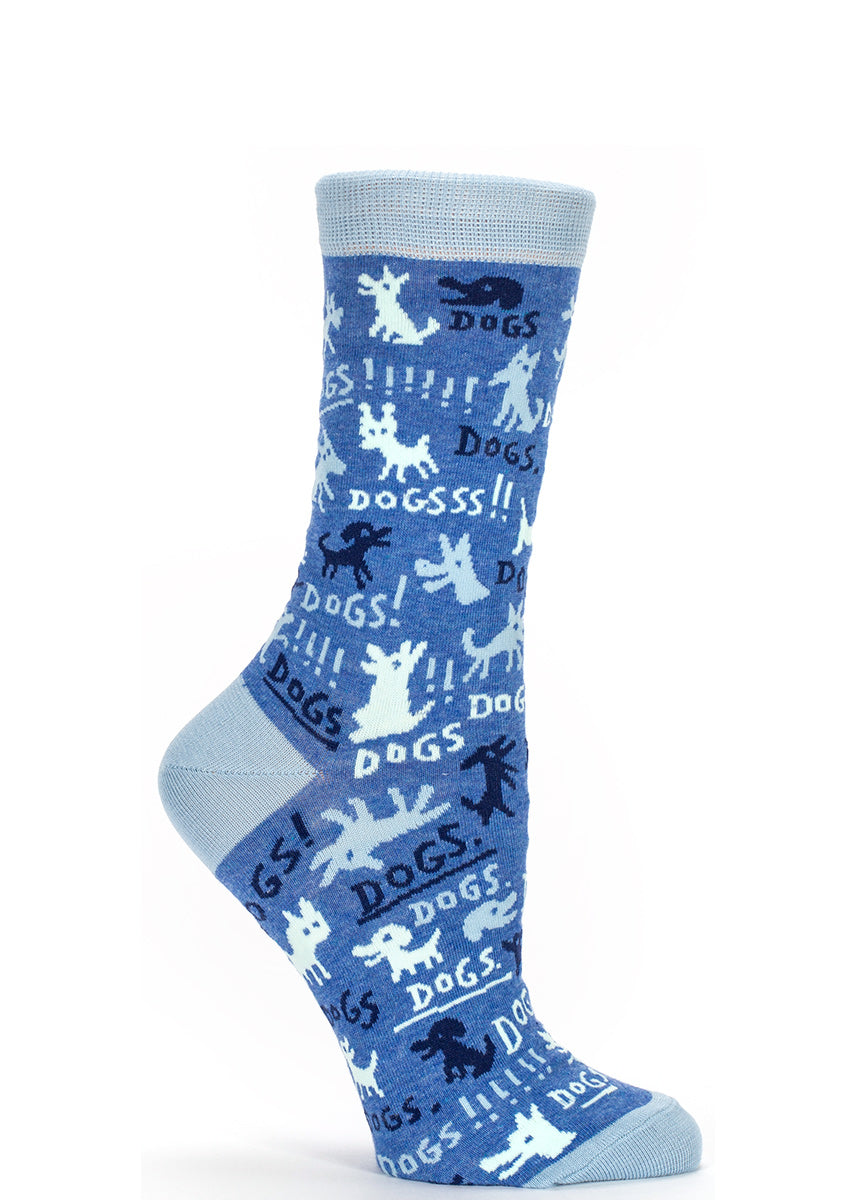 Here's a pair of dog socks that will get their tails wagging!