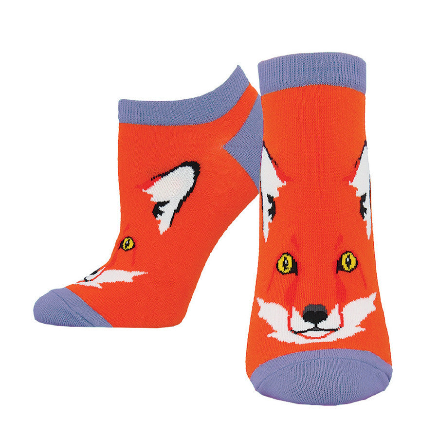 You can't wear shoes without socks, for fox sake.