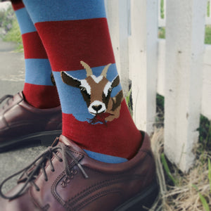 Hungry Goats Men's Crew Socks
