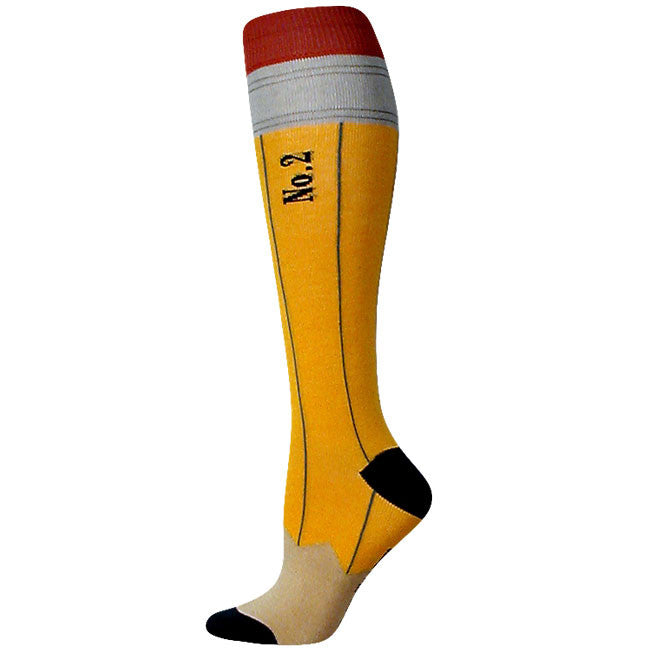 These pencil knee socks are on point!