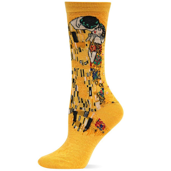 Kiss plain socks goodbye with these socks featuring the art of Gustav Klimt.