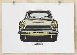 Cortina print by Glenn Smith