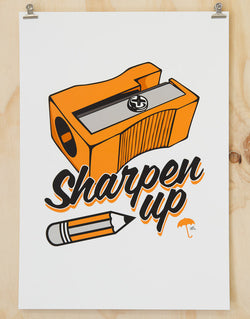 Sharpen Up print by Glenn Smith