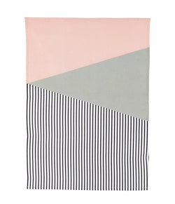 Pink Geo Tea Towel