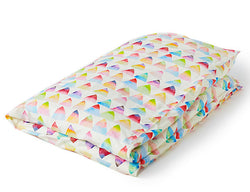 Rainbow Mountain Toddler Duvet & Pillow Case Set