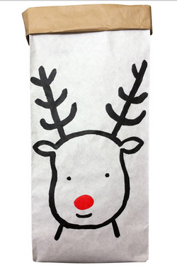 Henry & Co Reindeer Santa Sack Paper Bag