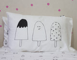 Ice Blocks Organic Pillow Case