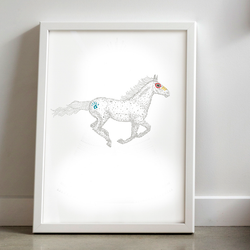 Horse Print by Laura Shallcrass