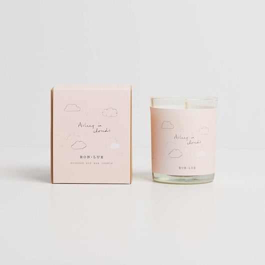 Bon Lux Votive Soy Candle - Asleep in Clouds