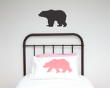 Bear Single Wall Sticker