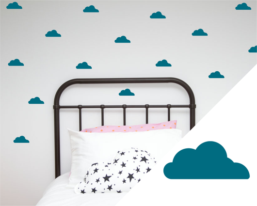 Clouds wall art stickers – Good Regards - Unique Homewares & Gifts
