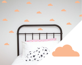 Clouds wall art stickers