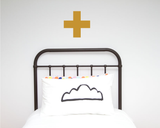 Cross Single Wall Sticker