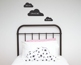 Dream, Imagine, Become Wall Decal