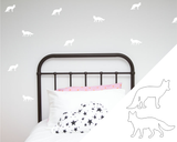 Foxes Wall Stickers