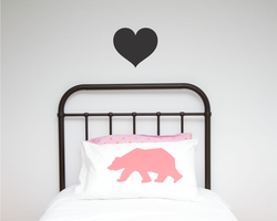 Heart Single Wall Sticker