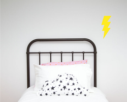 Lightning Bolt Single Wall Sticker