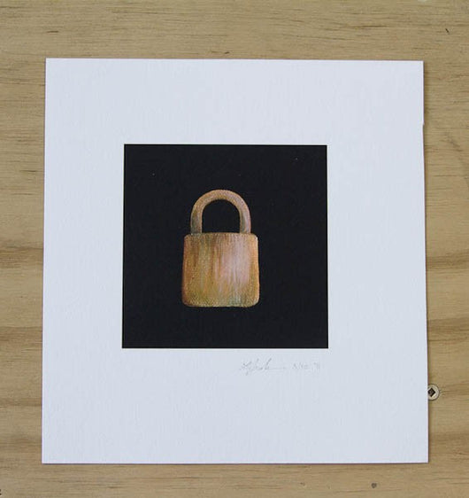Lock and Key Print set by Laura Shallcrass