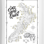 NZ Surf Quest Map