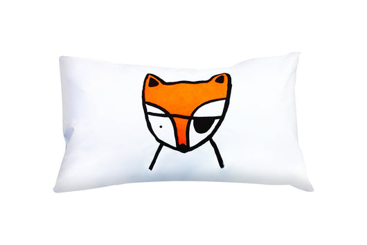 Henry & Co Fox Pillowcase - Orange