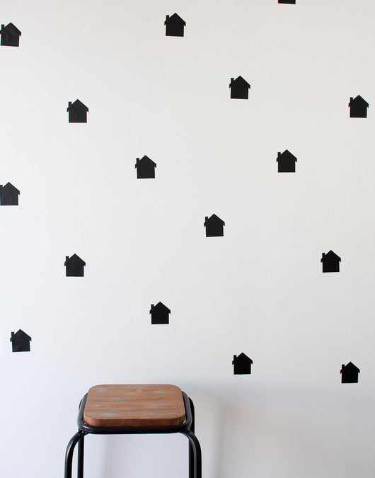 Houses Wall Stickers