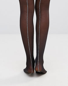 Gipsy sparkle seamed tights