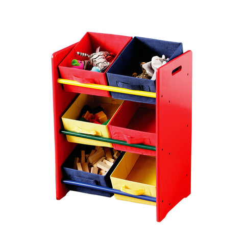 Kids storage unit 6 boxes - Smart Furniture London