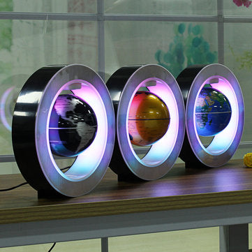 LED Electronic Magnetic Levitation Floating Globe