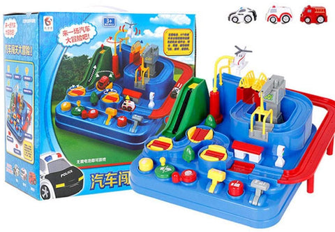 Eco-friendly Railcar Toy Adventure