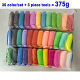 12- 36 Color Educational Polymer Plasticine Light Clay for kids