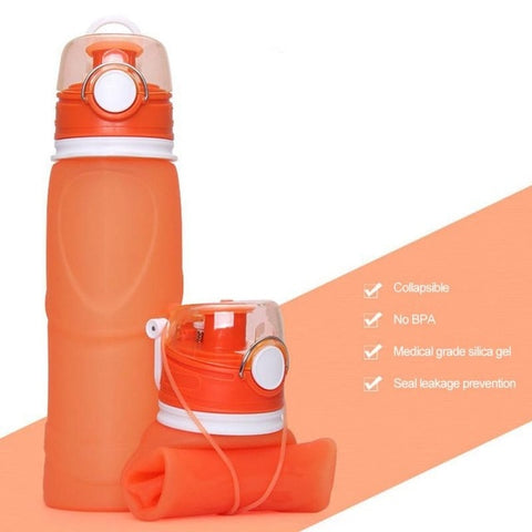 750ml Outdoor Collapsible Bottles