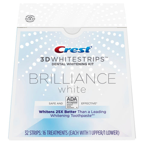 NEW Crest Brilliance White 3D Whitestrips (Medium)