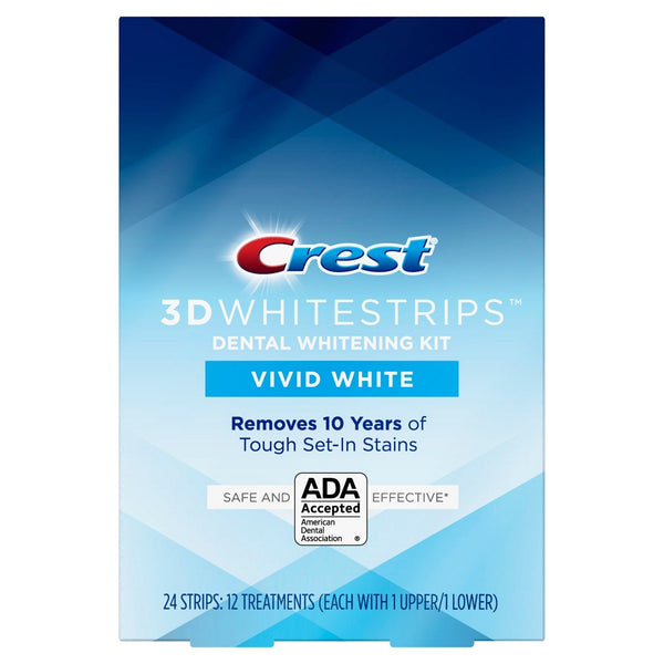NEW Crest Vivid White 3D Whitestrips (Medium)
