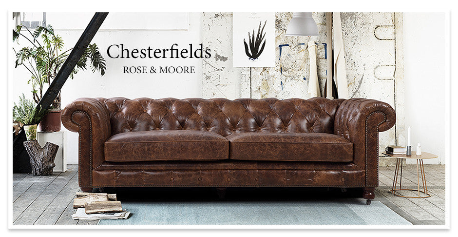 The Kensington Chesterfield by Rose & Moore