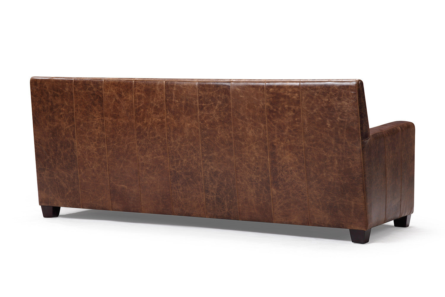 Delicieux Back Of The Belgian Leather Sofa