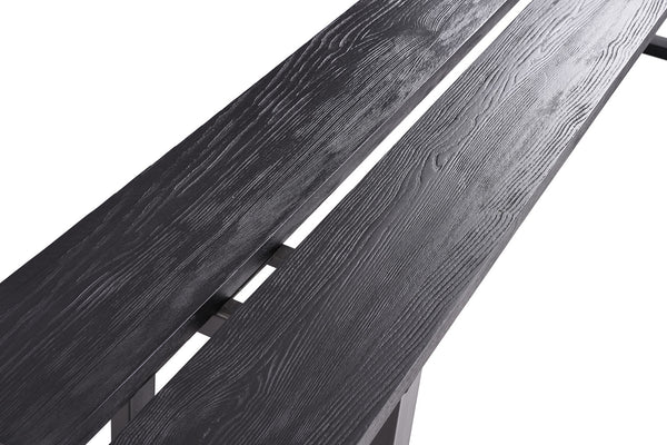 Black Ash Dining Bench