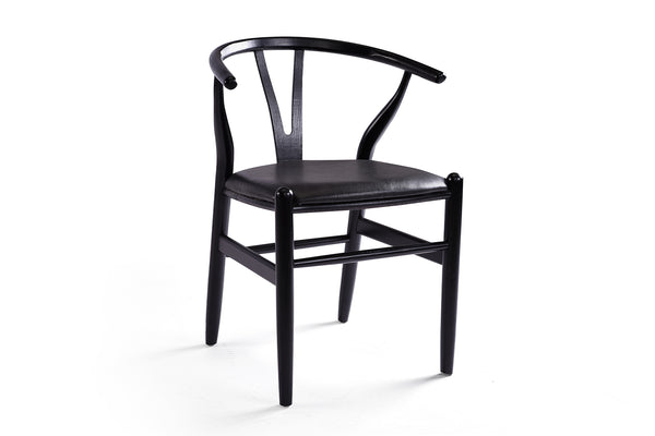 Black Wishbone Chair - CH02